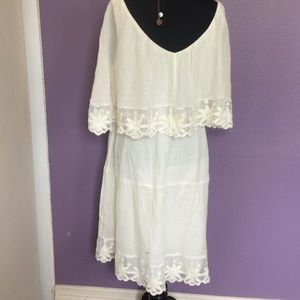Dresses - Boho, Ripple Gauzy casual dress